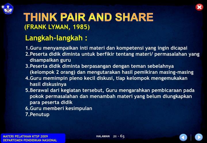 (FRANK LYMAN, 1985)