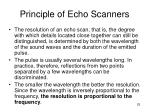 principle of echo scanners25
