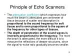 principle of echo scanners26
