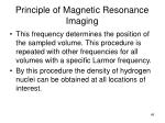 principle of magnetic resonance imaging49
