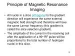 principle of magnetic resonance imaging52