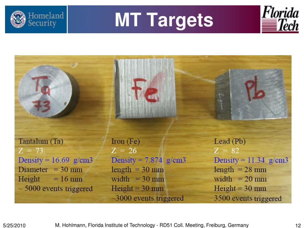 MT Targets
