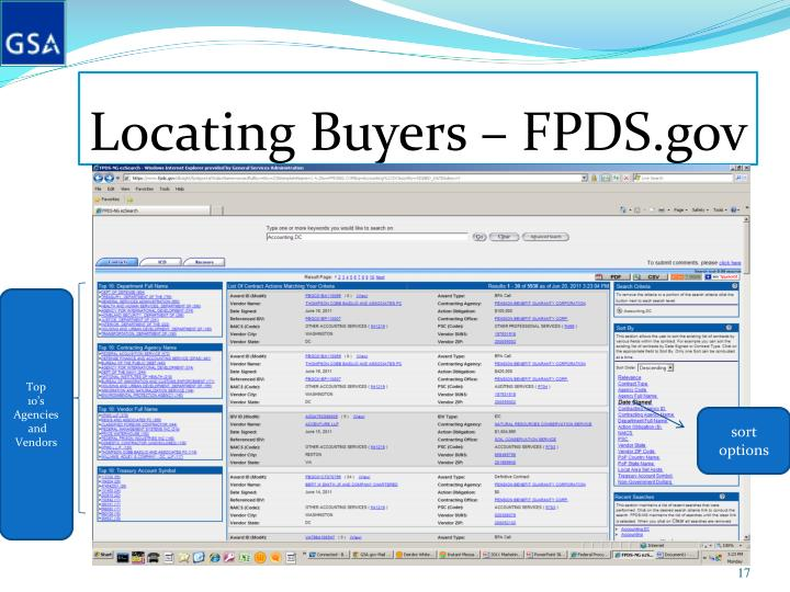 PPT - Marketing Tips and Resources for GSA Schedule 520 ...
