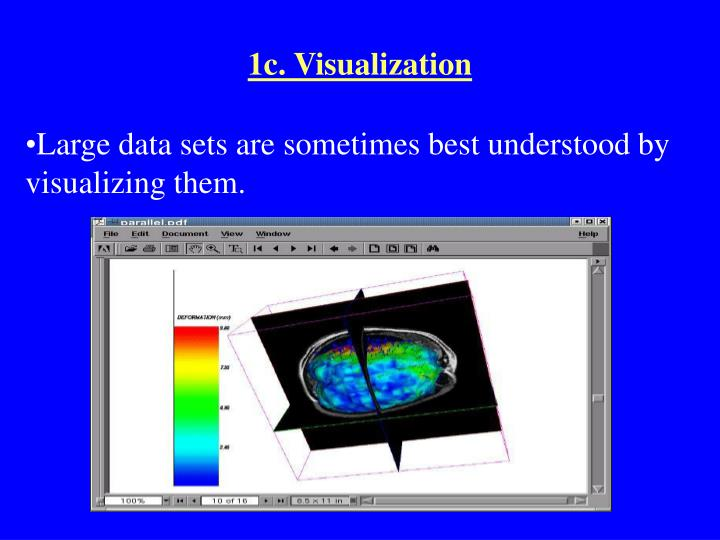 1c. Visualization