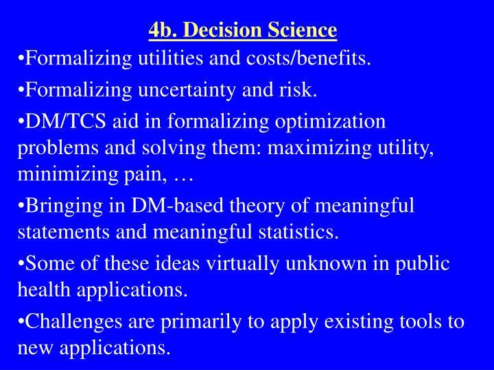 4b. Decision Science