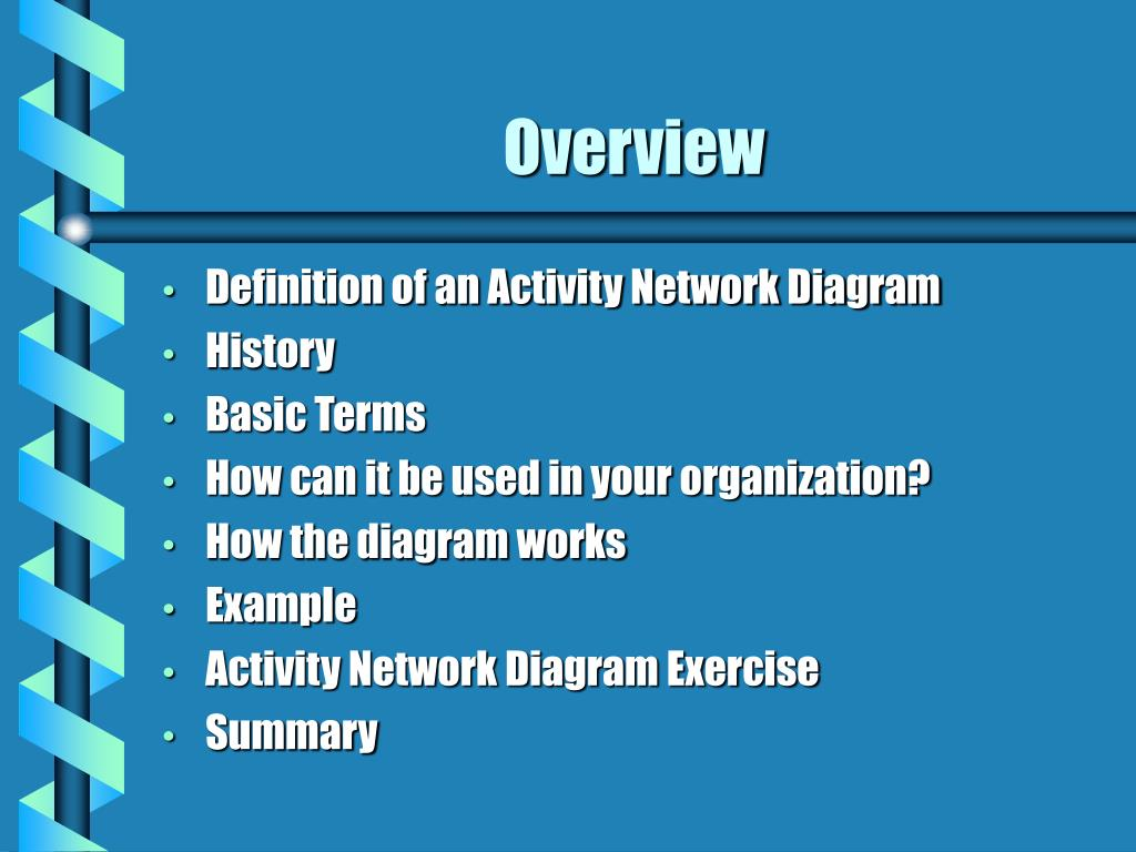 Ppt Activity Network Diagram Powerpoint Presentation Free Download Id 811575