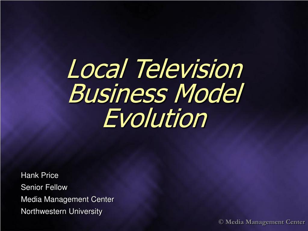 local television business model evolution l.