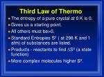third law of thermo1
