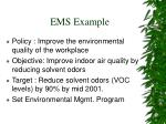 ems example
