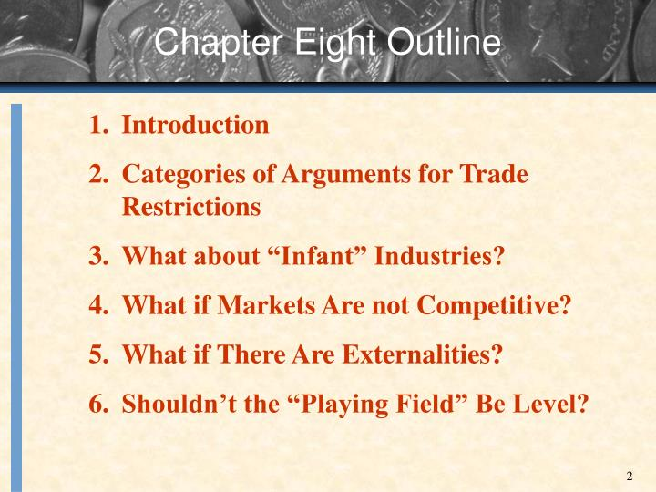 Chapter eight outline
