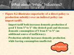 what about infant industries3