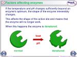 factors affecting enzymes1