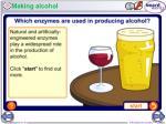 making alcohol