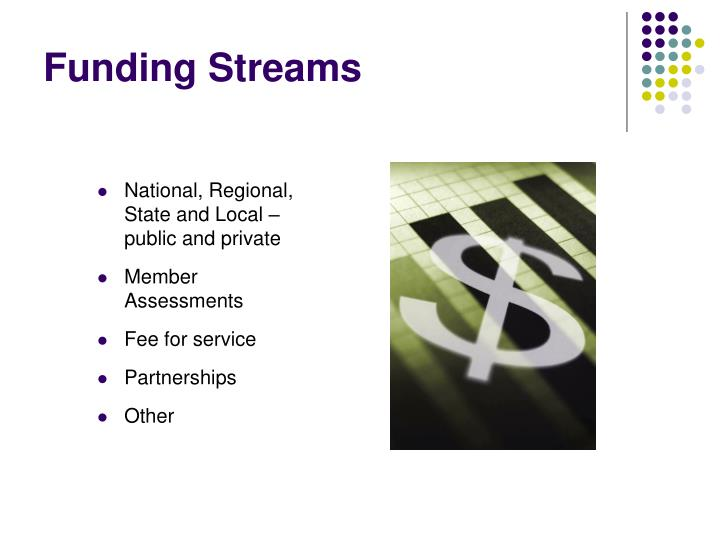 Funding Streams