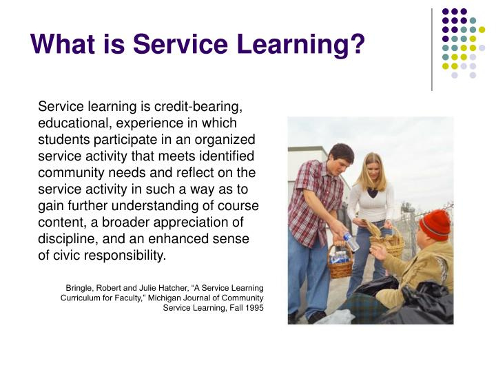 What is Service Learning?