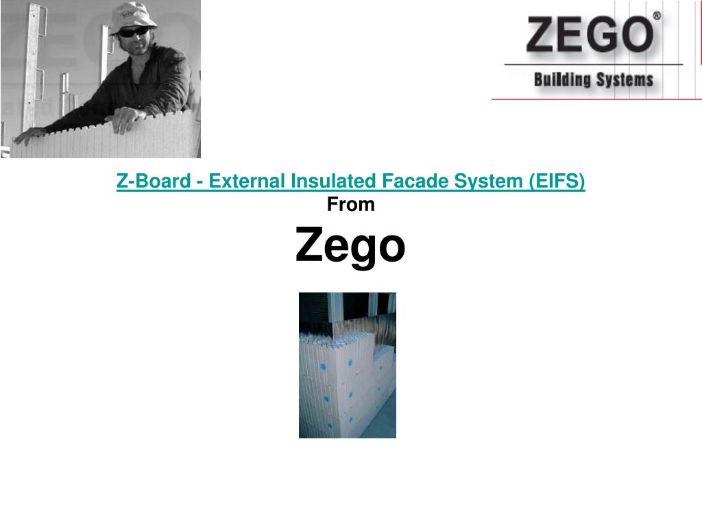 z board external insulated facade system eifs from zego l.