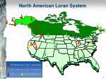 north american loran system