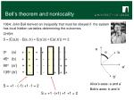 bell s theorem and nonlocality2