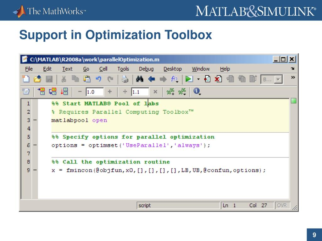 PPT - Parallel Computing with MATLAB ® PowerPoint