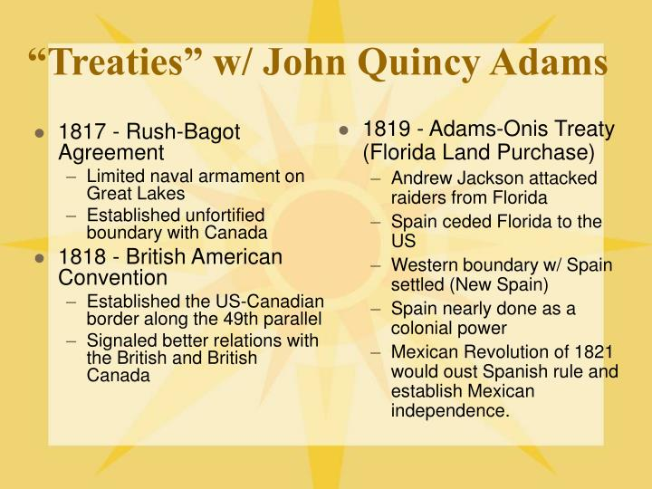 james monroe and john quincy adams In what ways did john quincy adams and thomas jefferson contribute to the formulation of the monroe doctrine.