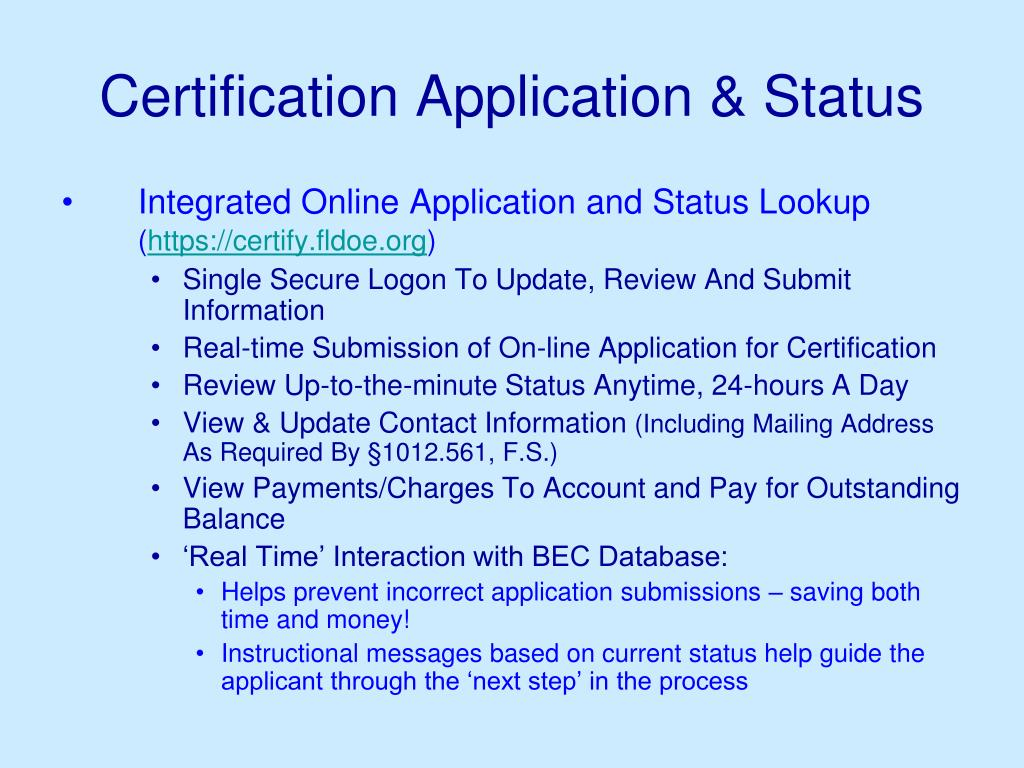 ppt powerpoint presentation welcome application status