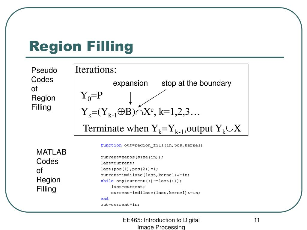 PPT - A MATLAB Tour of Morphological Filtering PowerPoint