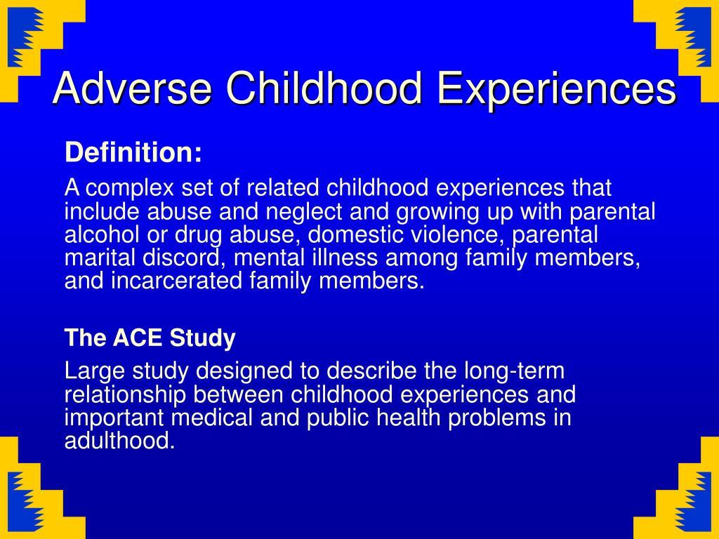 PPT - Breaking the Cycle/Mending the Hoop Adverse Childhood