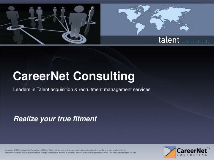 careernet consulting n.