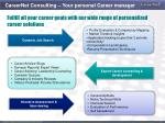 careernet consulting your personal career manager