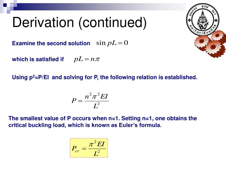 Derivation (continued)
