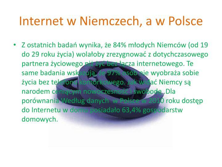 Internet w Niemczech, a w Polsce