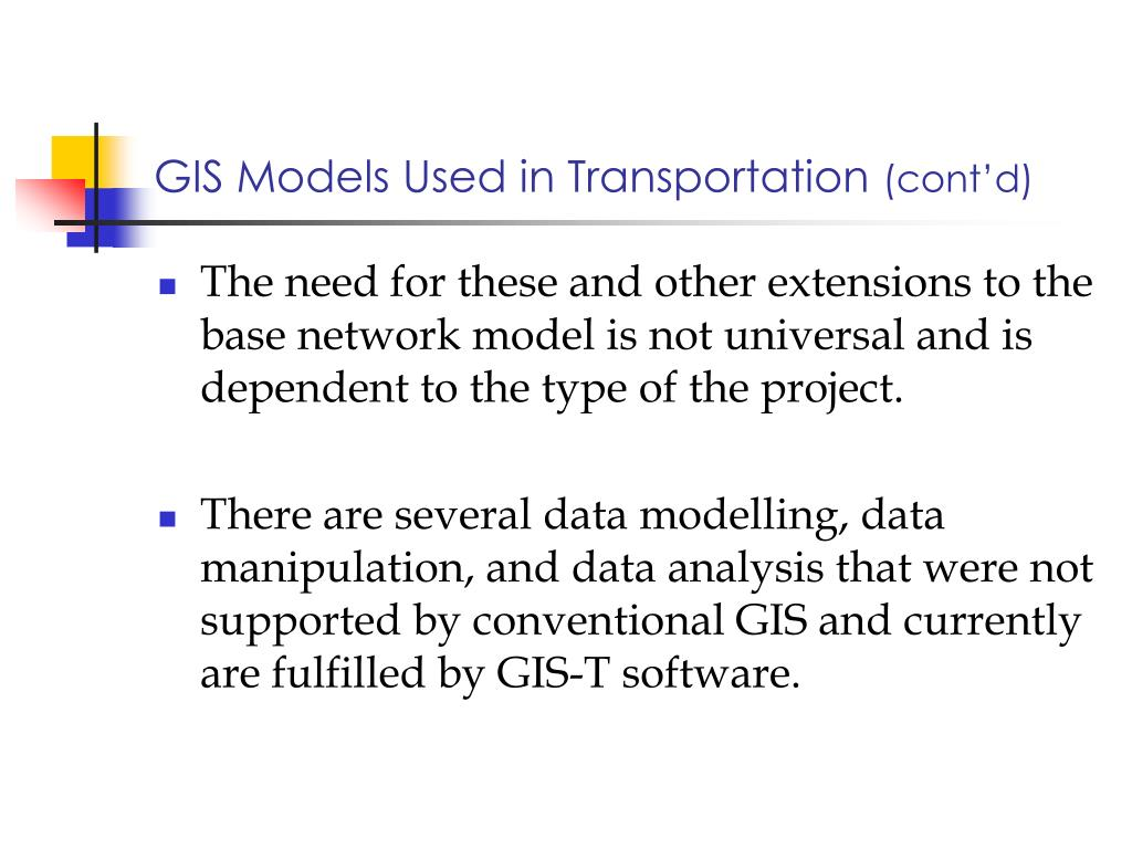 PPT - GIS and Transportation PowerPoint Presentation - ID:815197