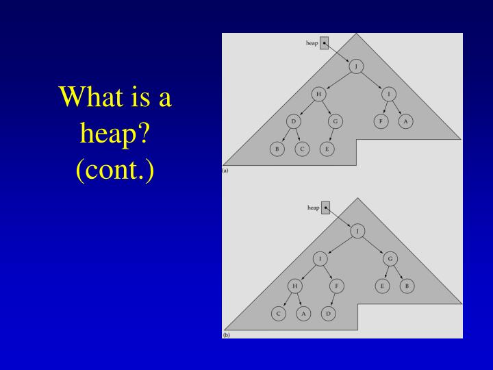 What is a heap? (cont.)