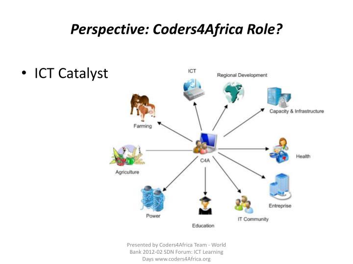 Perspective: Coders4Africa