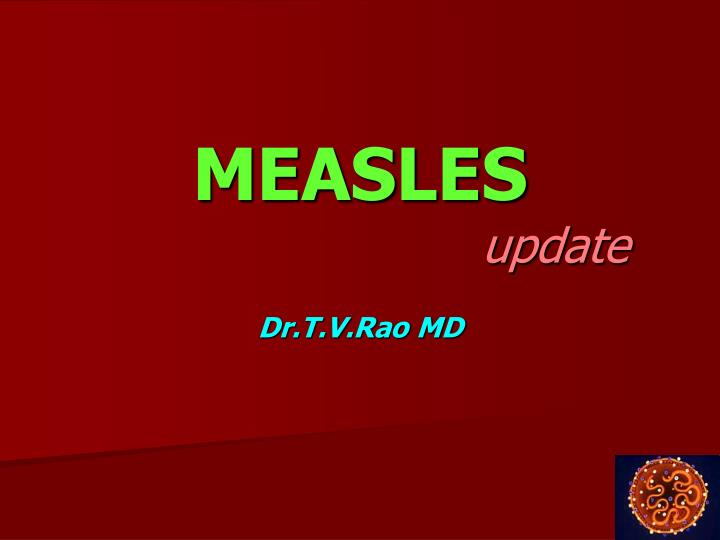 measles update n.