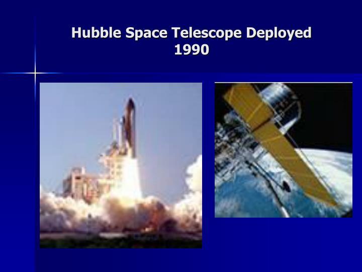 Hubble Space Telescope Deployed