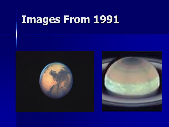 Images From 1991