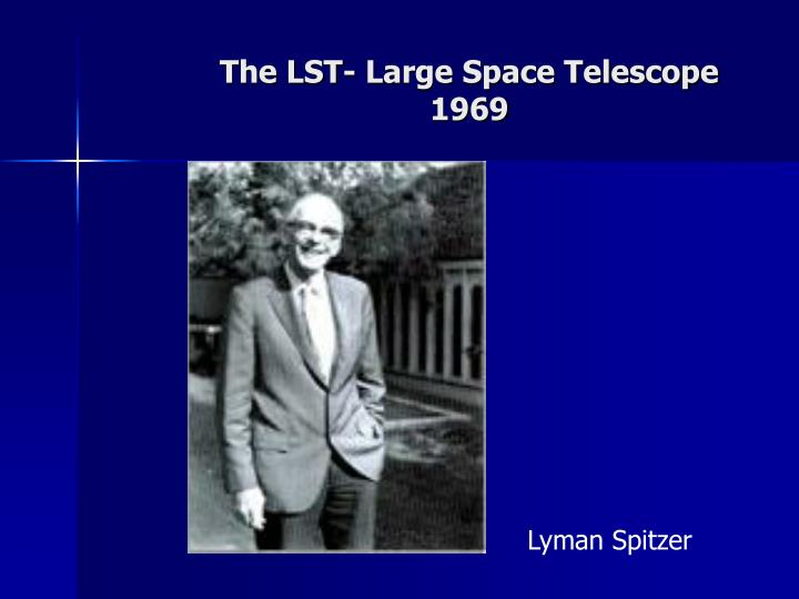 The LST- Large Space Telescope