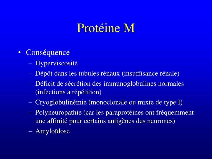 Protéine M