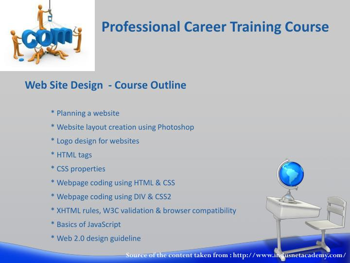 Professional career training course