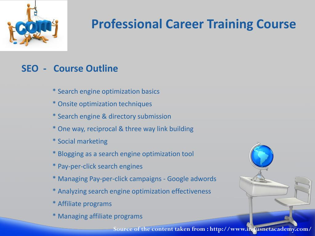 Professional Career Training