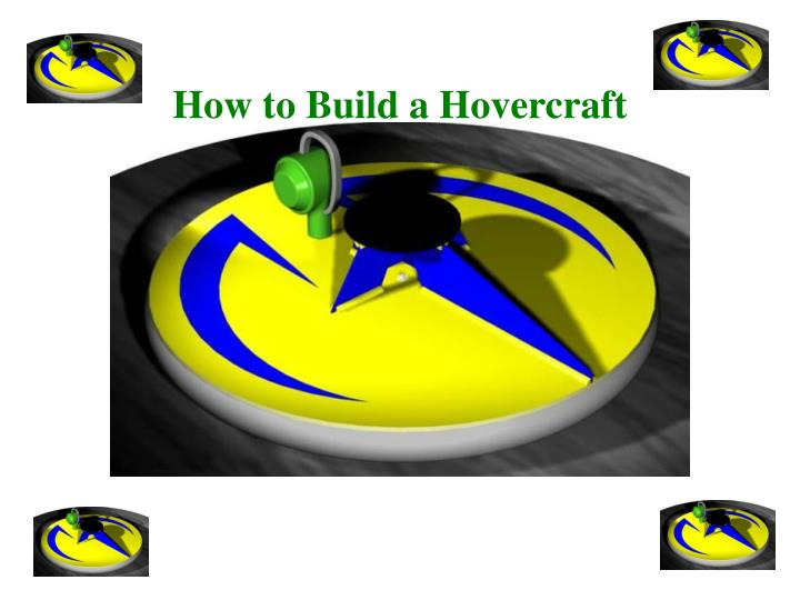 how to build a hovercraft n.
