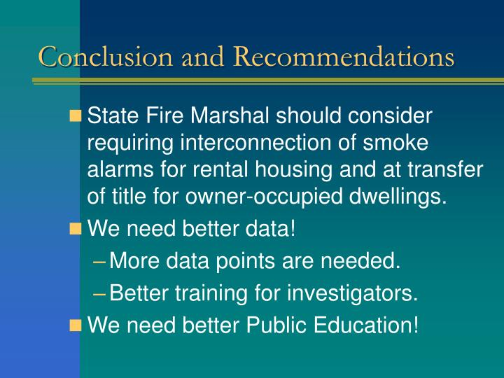 conclusion and recommendation Conclusions because substance abuse and delinquency are inextricably interrelated, identifying substance-abusing youth in the juvenile justice system is an important first step for intervening in both their substance abuse and their delinquent behavior.