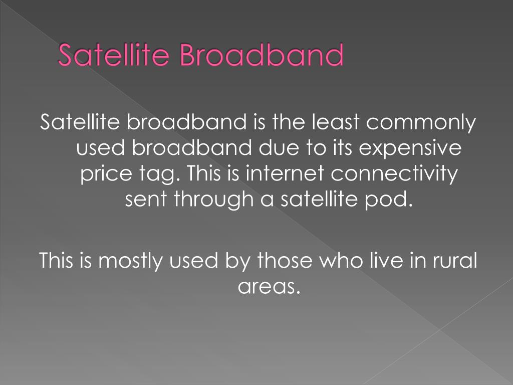 Satellite Broadband