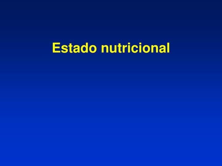 Estado nutricional