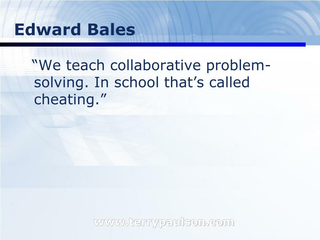 Edward Bales