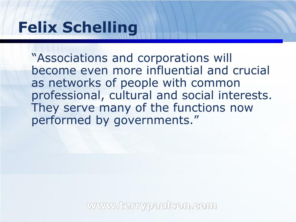 Felix Schelling