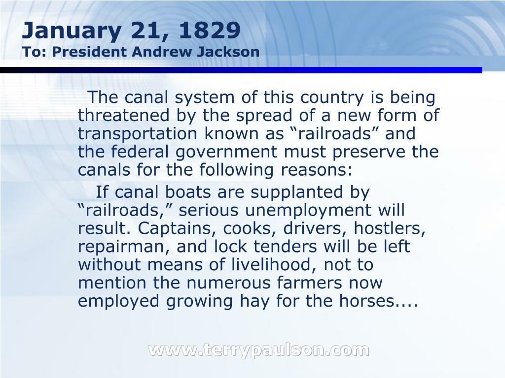 January 21, 1829