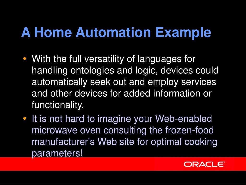 A Home Automation Example