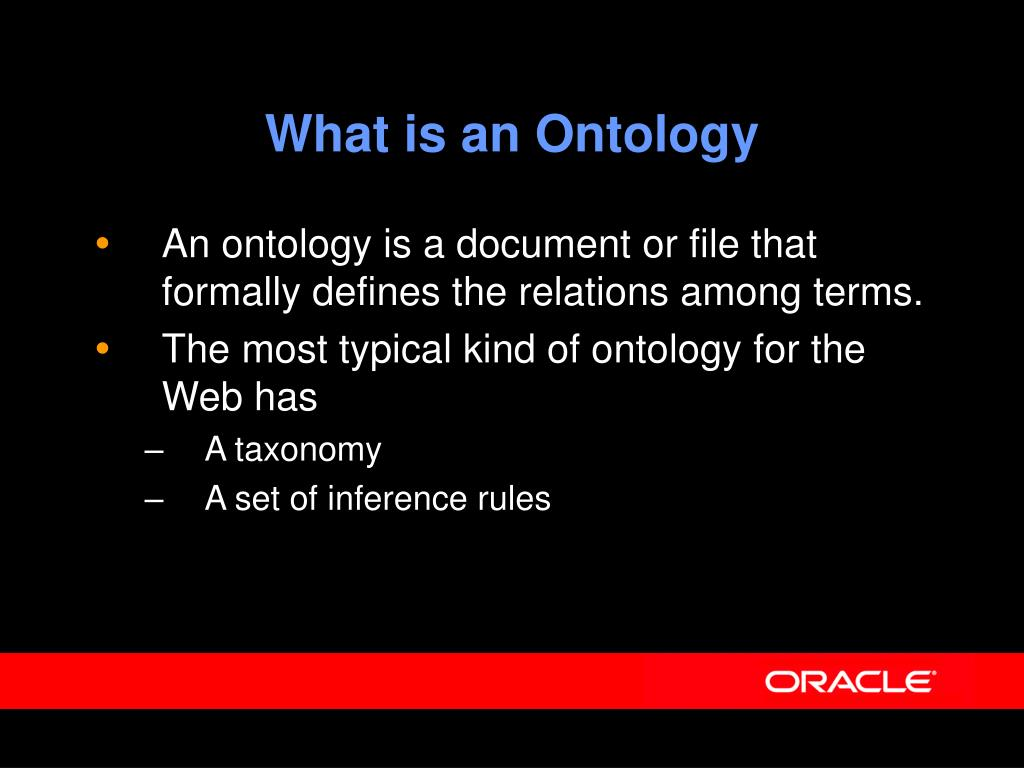 What is an Ontology
